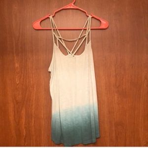NWOT American eagle strappy tank top size M